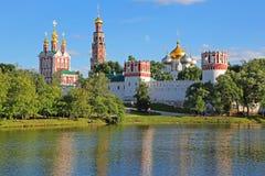 Convento di Novodevichy a Mosca Fotografia Stock Libera da Diritti