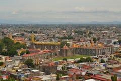 Convento di San Gabriel Church, Cholula, Messico Immagini Stock Libere da Diritti