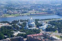 Convento di Smolny Immagini Stock