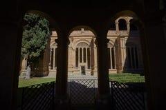 Convento di St Stephen Scala di Soto Salamanca spain fotografia stock