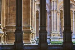 Convento di St Stephen Scala di Soto Salamanca spain fotografia stock libera da diritti
