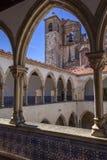 Convento di Templar di Cristo in Tomar Fotografia Stock