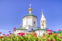 Convento di trasfigurazione della Russia Ceboksary Fotografie Stock