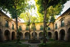 Convento di vecchia costruzione del monastero in Rio de Janeiro Fotografia Stock