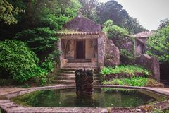 Convento do Capuchos, Sintra imagens de stock royalty free