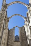Convento do Carmo in Lisbon Royalty Free Stock Images