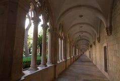 Convento Franciscan a Dubrovnik, fotografia stock