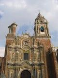 Convento Huejotzingo - Acatepec - México Imagen de archivo