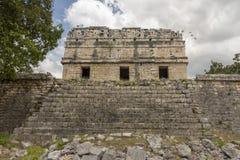 Convento maia em Chichen Itza imagem de stock royalty free
