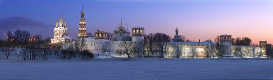 Convento P3 di Novodevichy Fotografie Stock Libere da Diritti