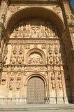 Convento of San Esteban - Salamanca Stock Image