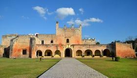 Convento a Valladolid, Messico fotografia stock libera da diritti