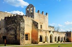 Convento a Valladolid, Messico immagine stock