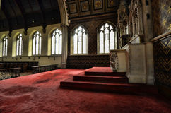 The Convents Chapel. Images from a long since abandoned chapel Stock Photo