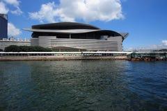 Convenzione di Hong Kong e centro di mostra Fotografie Stock