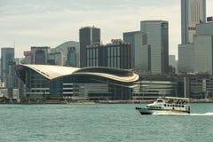 Convenzione di Hong Kong e centro di mostra fotografia stock