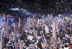 Convenzione nazionale Democratic Immagine Stock