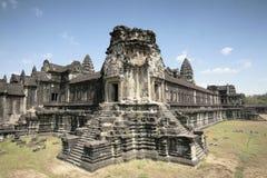 Conver吴哥寺庙(吴哥窟),暹粒,柬埔寨 免版税库存图片