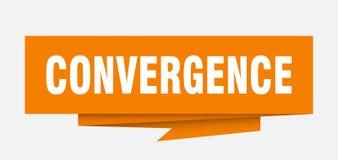 convergencia ilustración del vector