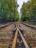 Convergerende lijnen Stock Foto's