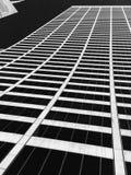 Convergerende lijnen van het Gunstgebouw in uit het stadscentrum Manhattan, NYC royalty-vrije stock fotografie