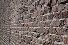 Converging Bricks Stock Photo