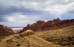 Converging Canyon Stock Photos