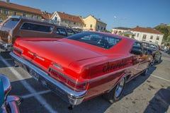 Conversível de capota dura 1966 de Chevrolet Impala SS Foto de Stock Royalty Free