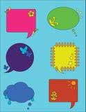 Conversa da bolha Fotografia de Stock Royalty Free