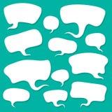 Conversa da nuvem ilustração do vetor