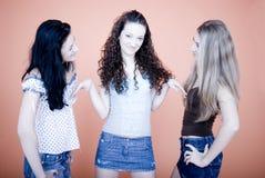 Conversa das mulheres Foto de Stock Royalty Free