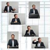 Conversación de las ventas foto de archivo