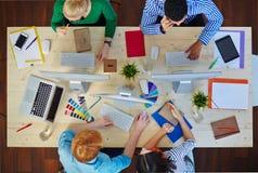 Conversación de diseñadores Imagen de archivo