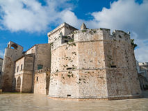 Conversano Schloss. Apulia. Lizenzfreies Stockfoto