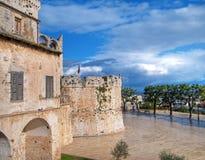 Conversano Schloss. Apulia. Stockbild