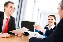 Conversation Royalty Free Stock Photography