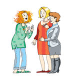 Conversation stock illustration