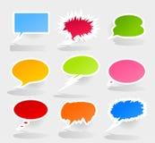 Conversation cloud2 Stock Image