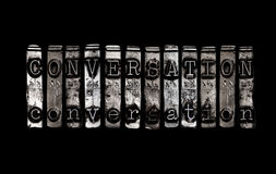 Conversation concept Royalty Free Stock Photo