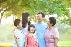 Conversation heureuse Images stock