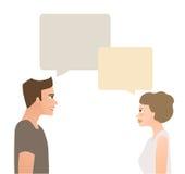 Conversazione Immagini Stock
