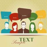 Conversazione. royalty illustrazione gratis