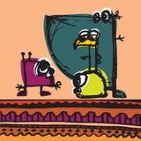 Conversazione dei bambini Royalty Illustrazione gratis