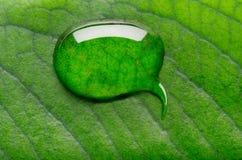 Conversazione della bolla dell'acqua Immagini Stock Libere da Diritti