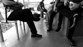 conversazione della gente fotografie stock libere da diritti