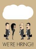 Conversazione di affari illustrazione vettoriale