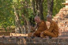 Conversazione di Dharma Immagini Stock