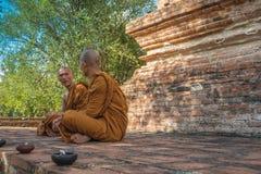 Conversazione di Dharma Fotografia Stock