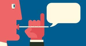 Conversazione in ozio Immagini Stock Libere da Diritti