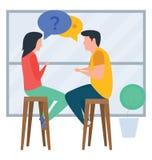 Conversazione illustrazione di stock
